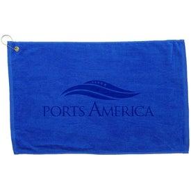 Monogrammed Diamond Collection Golf Towel