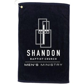 Promotional Diamond Collection Golf Towel