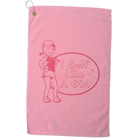 Diamond Collection Golf Towel Printed with Your Logo