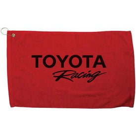 Printed Diamond Collection Golf Towel