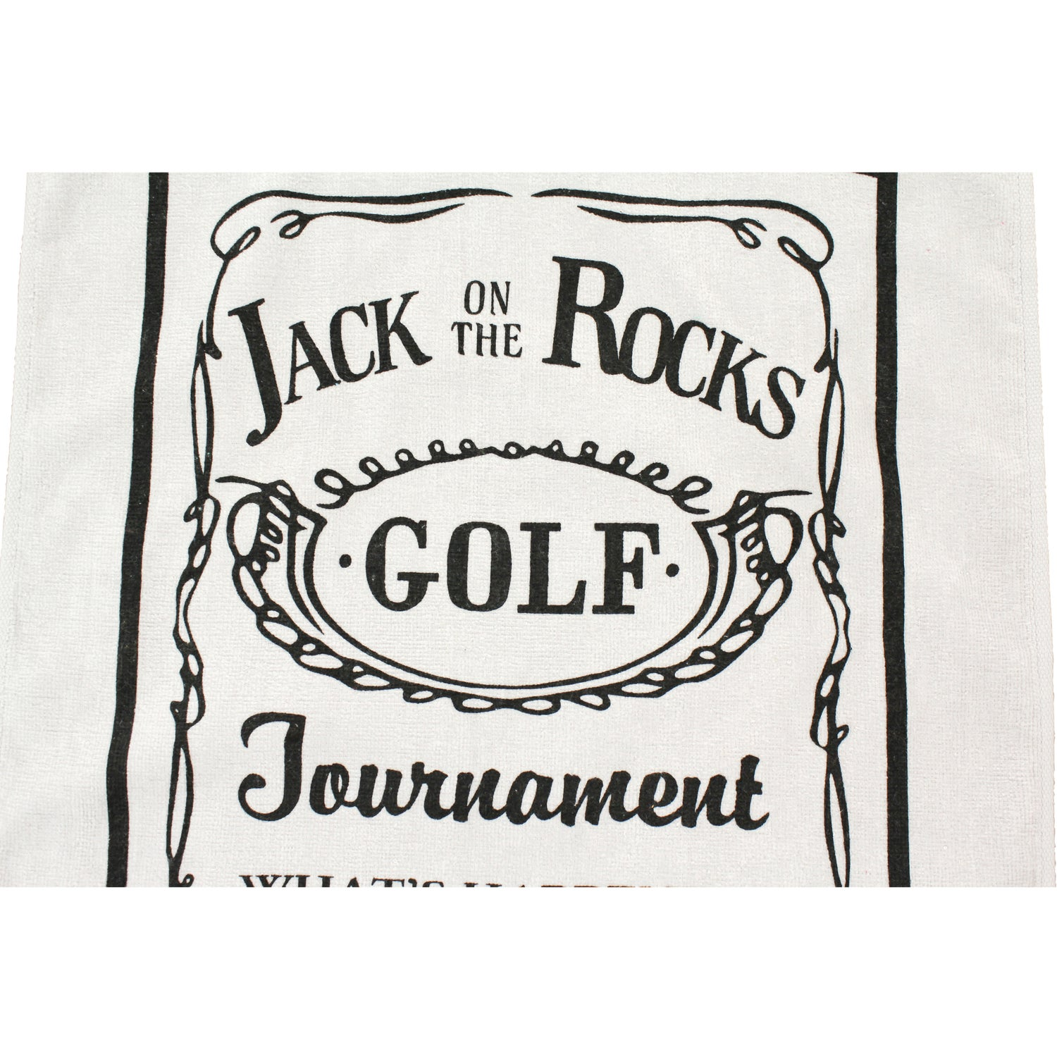 Promotional White Diamond Collection Golf Towels With Custom Logo Microfiber Towel Standard For 291 Ea