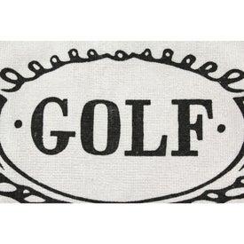 Imprinted Diamond Collection Golf Towel