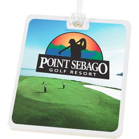 Digital Rectangle Golf Tags