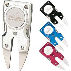 Aluminum Divot Repair Tool