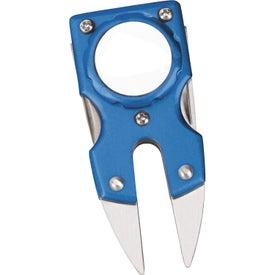 Imprinted Personalized Divot Repair Tool
