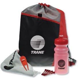 Drawstring Sport Pack Golf Kit