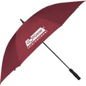 Printed Fiberglass Golf Umbrella