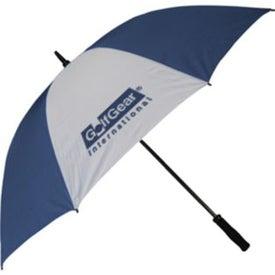 Fiberglass Golf Umbrella Printed with Your Logo