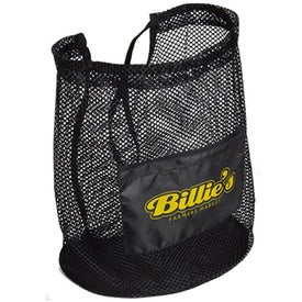 Flex Mesh Drawstring Bag
