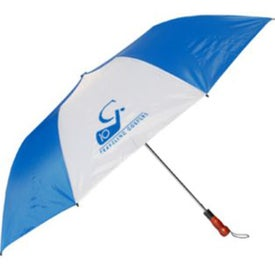Foldable Sports Umbrella with Your Slogan