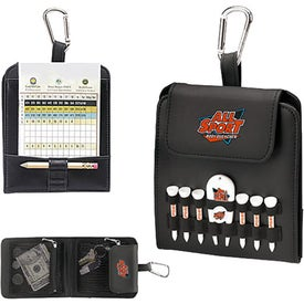 Personalized Folding Golf Caddy