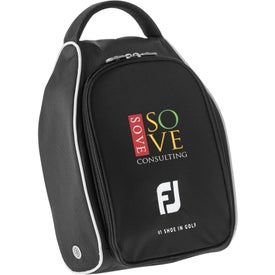 Monogrammed Titleist FootJoy Nylon Golf Shoe Bag
