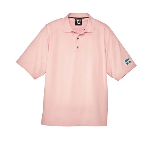 Footjoy prodry pique solid shirt custom golf accessories for Footjoy shirts with titleist logo