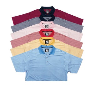 FootJoy ProDry Lisle Stripe Shirt with Your Logo