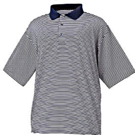 FootJoy ProDry Lisle Stripe Shirt Branded with Your Logo