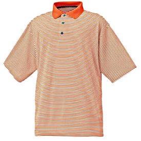 FootJoy ProDry Lisle Stripe Shirt Printed with Your Logo