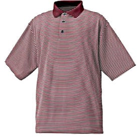 FootJoy ProDry Lisle Stripe Shirt with Your Slogan