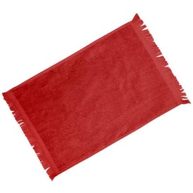 Fringed Colored Towels for Your Church