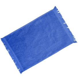 Fringed Colored Towels for Promotion