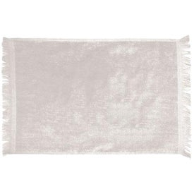 """Branded Personalized Fringed Towel - 10.5"""" x 18"""""""