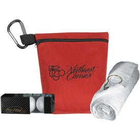 Gelles Golf Kit Imprinted with Your Logo