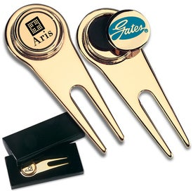 Gold-Plated Golf Tool