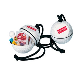 Golf Ball Pro Golfer's Kit with Neck Rope