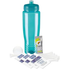 Advertising Sports Bottle Deluxe Golf Event Kit - DT Solo