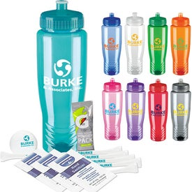 Company Sports Bottle Deluxe Golf Event Kit - NDX Heat