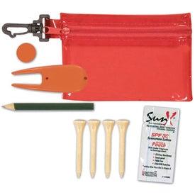Monogrammed Golf Kit