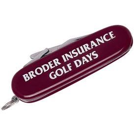 Branded Golf Knife