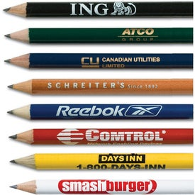 Golf Round Pencil Giveaways