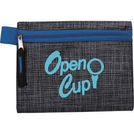 "Golf Tee Kit 2-3/4"" with Printed Non-Woven Pouch"