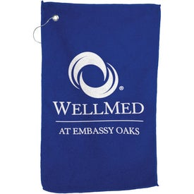 Microfiber Golf Towel Branded with Your Logo