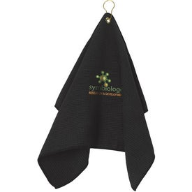 Golf Waffle Towel for your School