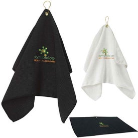 Advertising Golf Waffle Towel