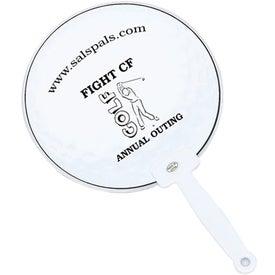 Imprinted Golf Fan