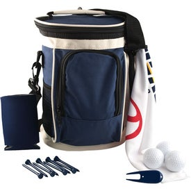 Personalized Golf Cooler Kit w/ Pinnacle Gold Distance