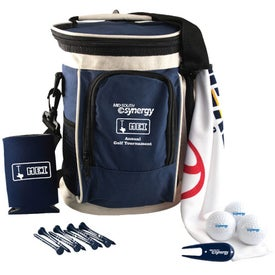 Golf Cooler Kit w/ Pinnacle Gold Distance for Marketing