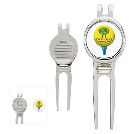 Golfers Divot Tools with Ball Marker