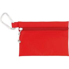 "Imprinted Golfer's Sun Protection Kit - 2 1/8"" Tee"