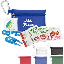 "Golfer's Sun Protection Kit - 2 1/8"" Tee"
