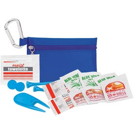 "Branded Golfer's Sun Protection Kit - 2 3/4"" Tee"