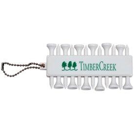 Plastic Golf Tee Set for Customization