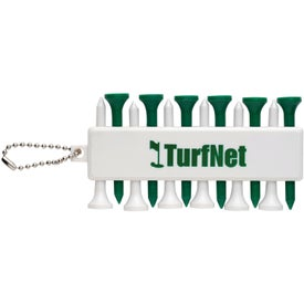 Plastic Golf Tee Set with Your Logo
