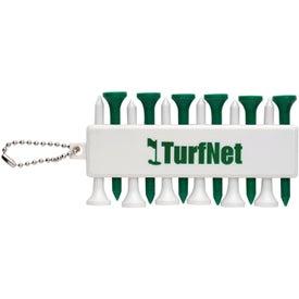 Customizable Golf Tee Set with Your Logo