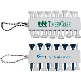 Branded Customizable Golf Tee Set