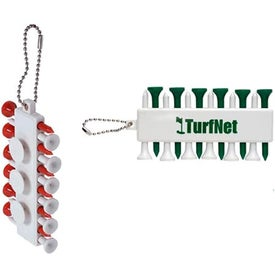 Customizable Golf Tee Set with Your Slogan