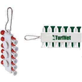Plastic Golf Tee Set with Your Slogan