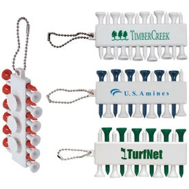 Plastic Golf Tee Set